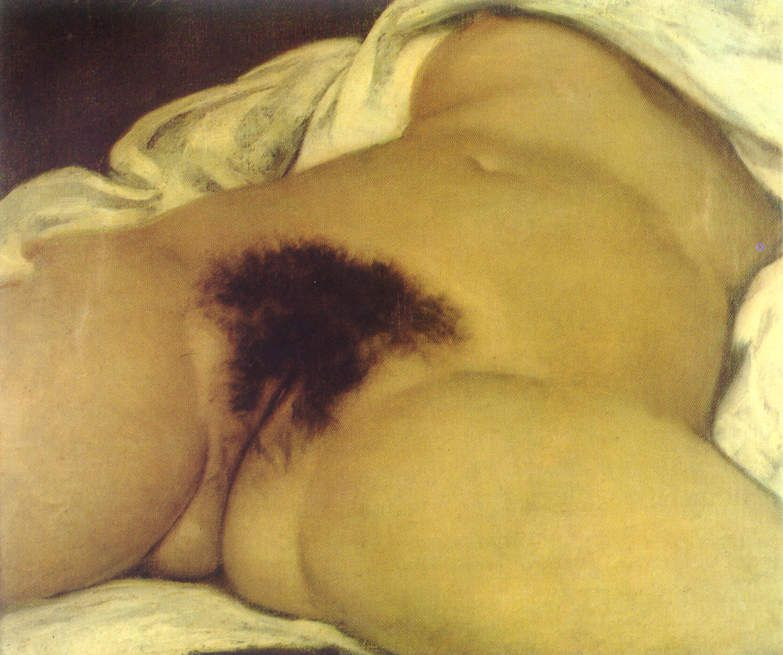 Gustave Courbet - L'origine du monde, 1866
