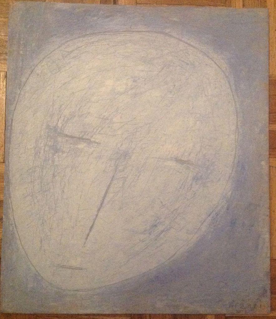 Arzazi - Femme lune, h/bois, 2010