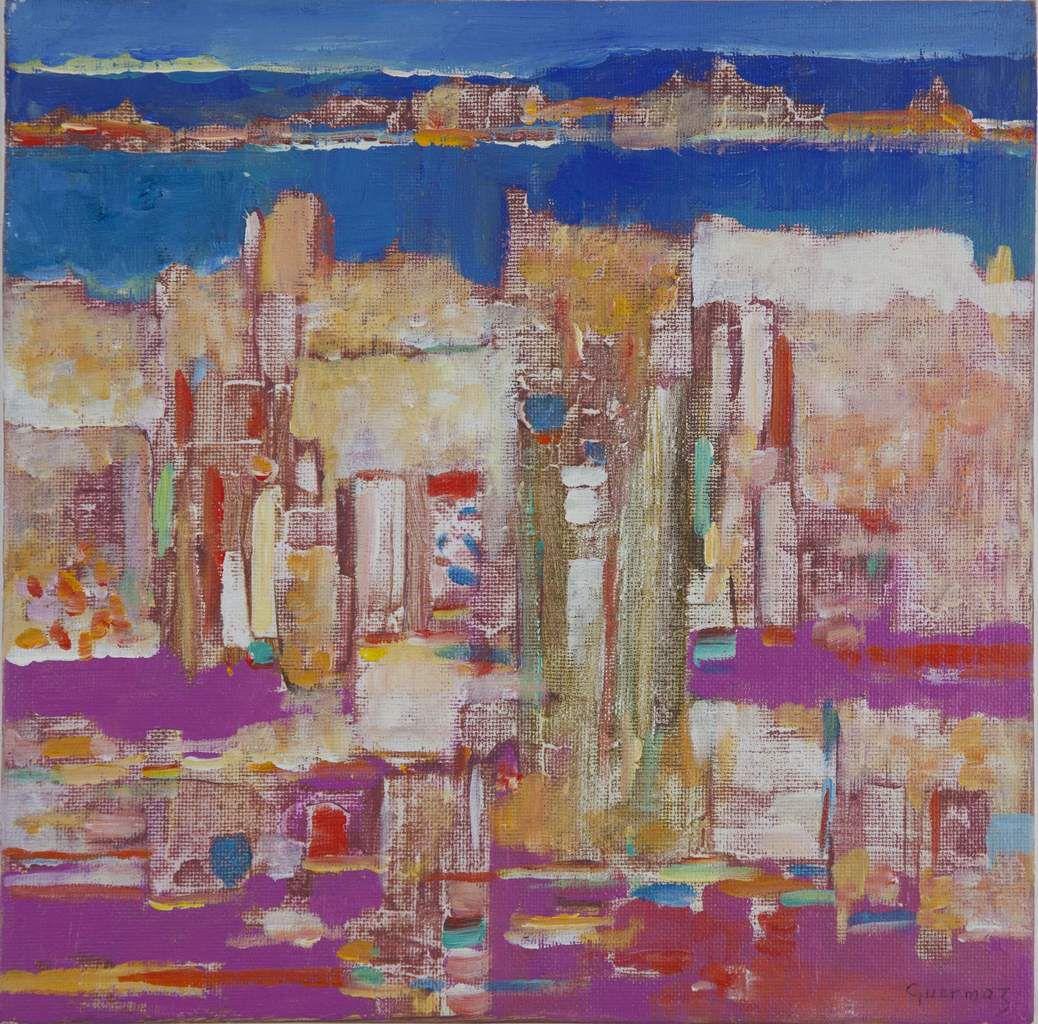 Guermaz - Euphorie, 1994, hsb, 32x33cm