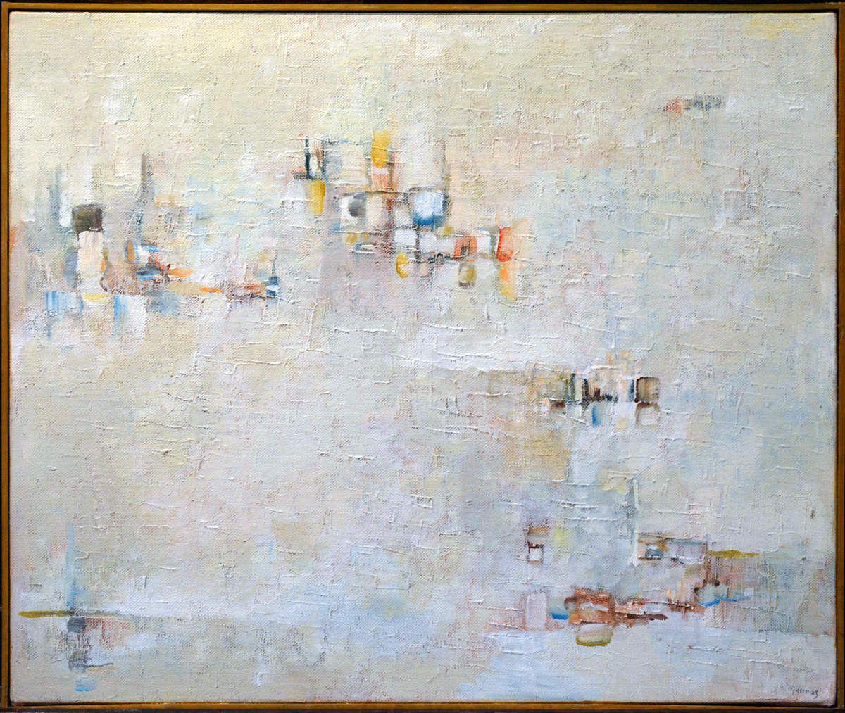 Guermaz - Douce souvenance, 1989 ,hst, 46x55cm