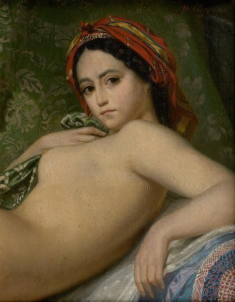 Théodore Chassériau (attribué à ) - Jeune femme, 1851