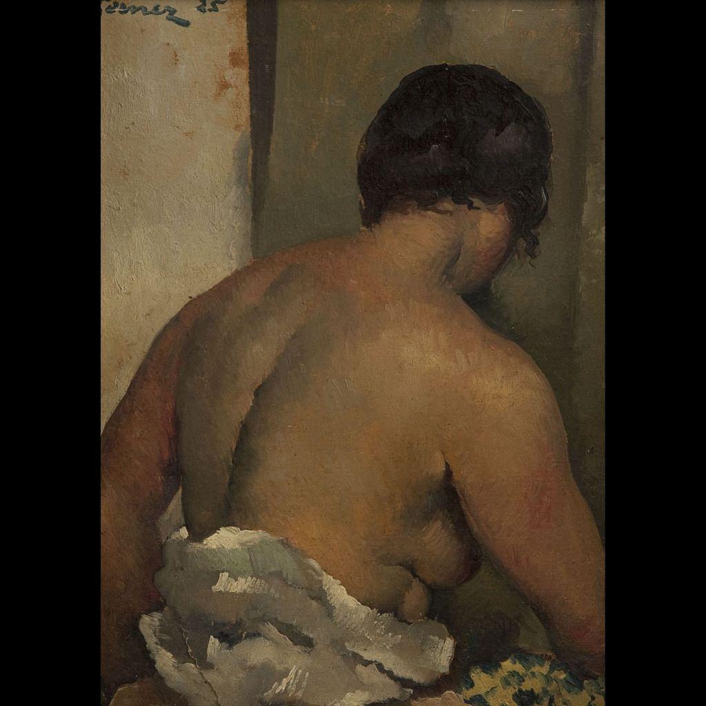 Paul-Elie Gernez - Femme vue de dos, 1925