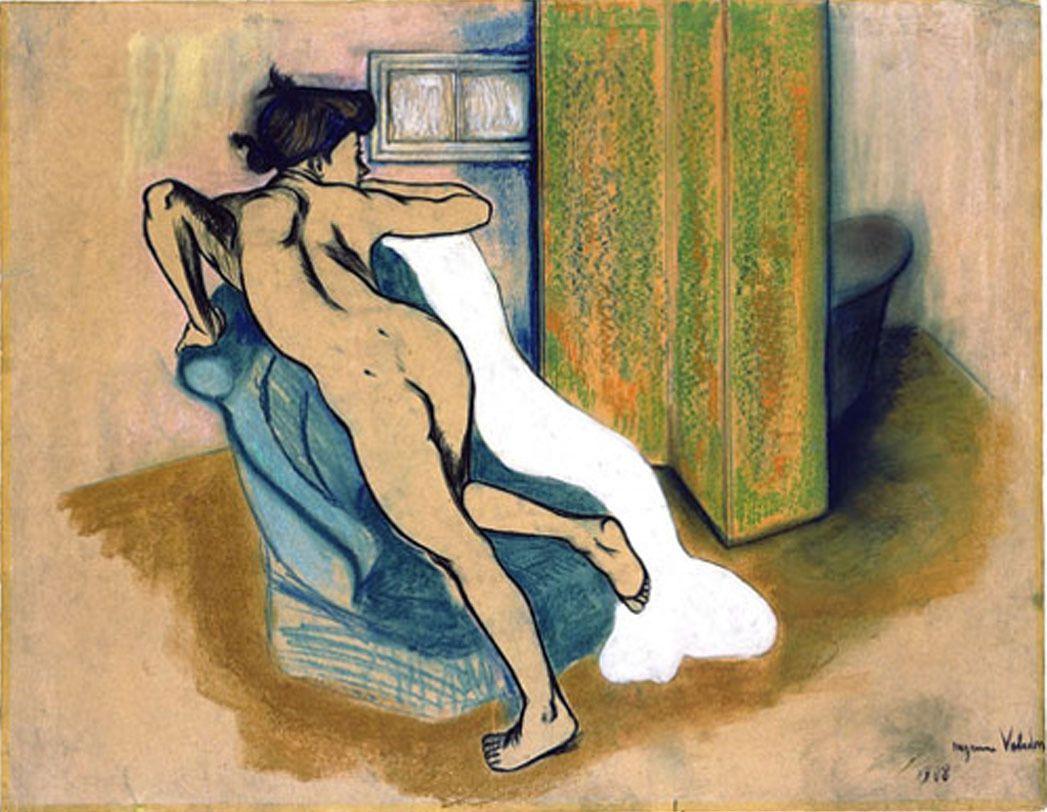 Suzanne Valadon - Près du bain, 1908