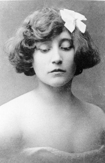 Colette, vers 1902