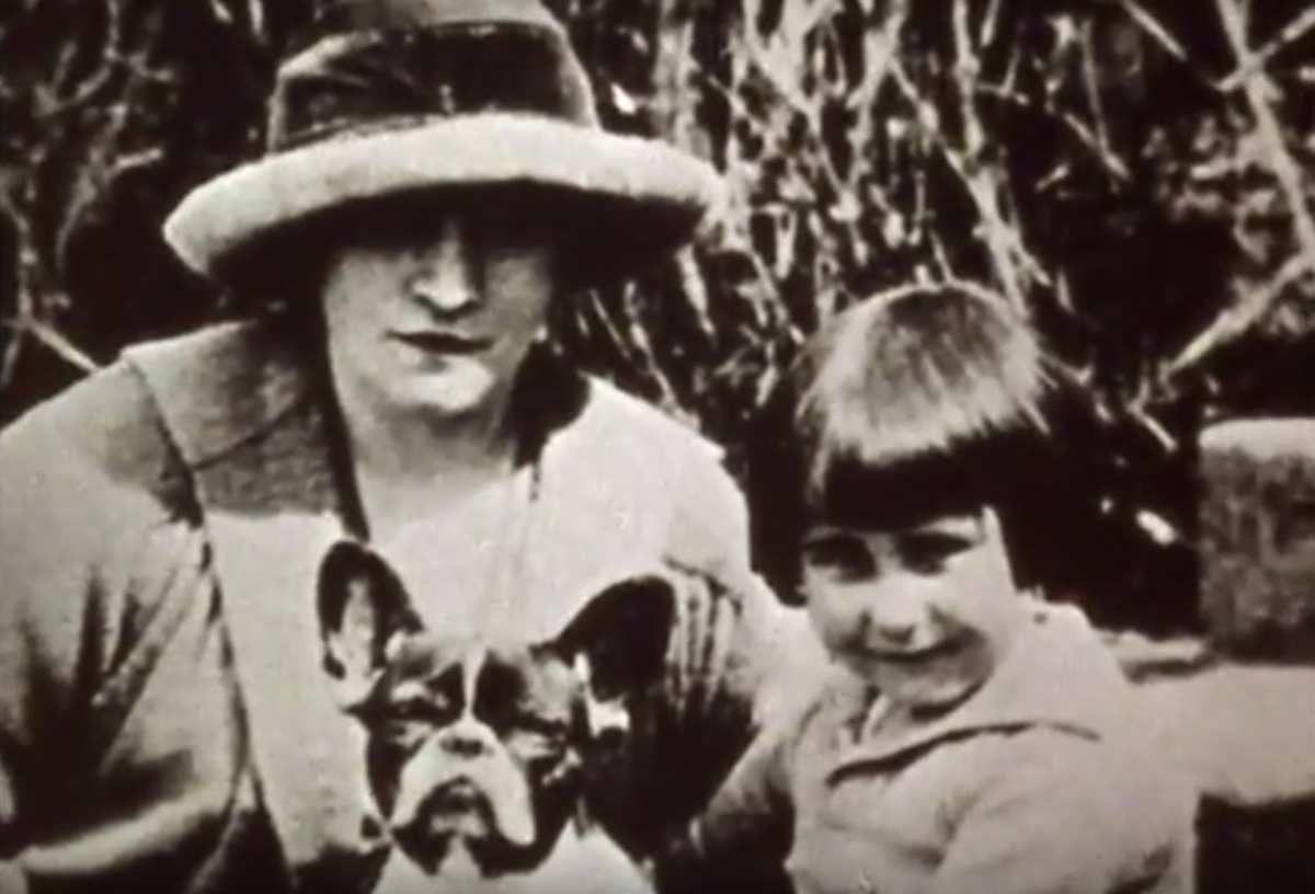Colette et sa fille