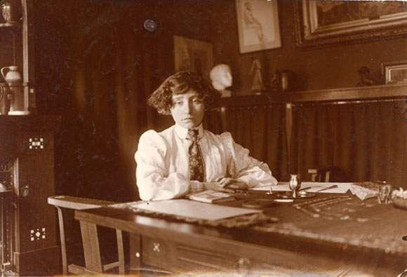Coletteau travail rue de Courcelles justa après son mariage, 1900