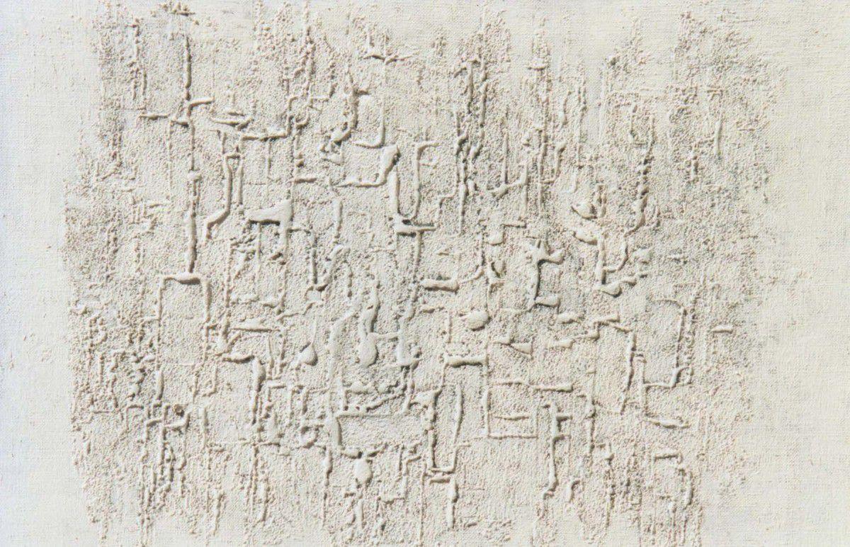 Guermaz - Sans titre, 1970, hst, 33x41cm.
