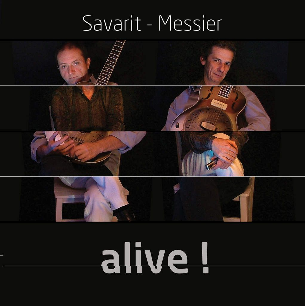 "CD ""ALIVE"" Duo Savarit Messier"