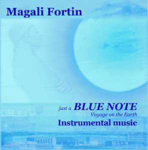 "CD "" Blue Note"" Magali Fortin"