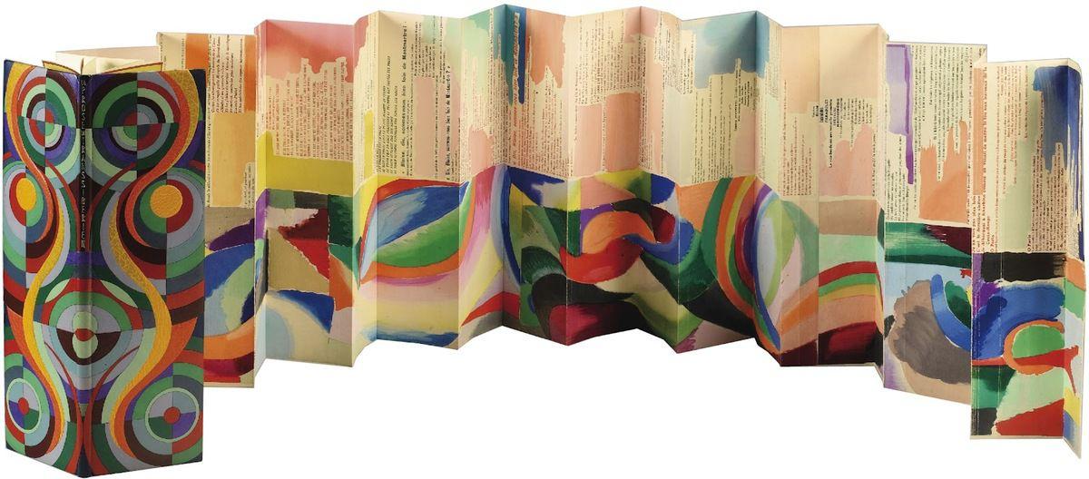 """Blaise Cendras-Sonia Delaunay """"La prose du transibérien et de la ..."""