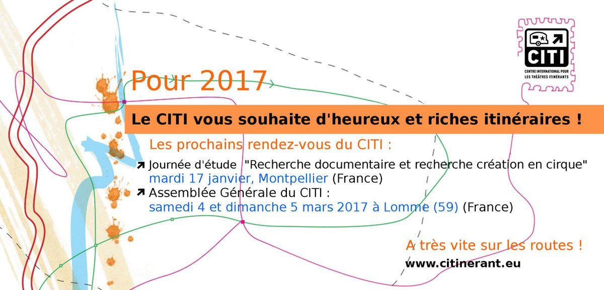 Bonne année sur les routes avec le CITI !