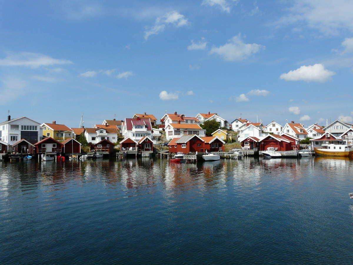 Suède :  des îles dans le Bohüslan