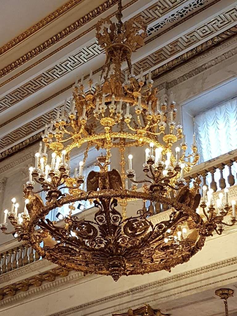 Saint Pétersbourg : le palais d'hiver