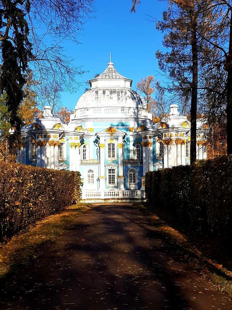 Le palais de Tsarskoïe Selo (Russie)