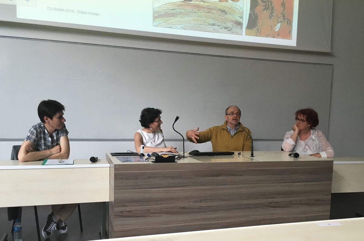 Laeticia Chamard , Claude Borghetto, Didier Vernay et Cécile Cardon
