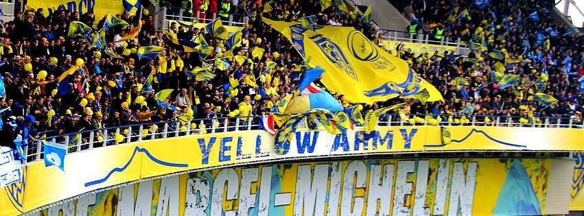 Bon courage à Toulon , la yellow army est prête !