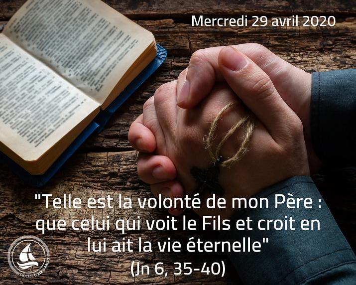 Même confiné, on peut prier et méditer ! n°32