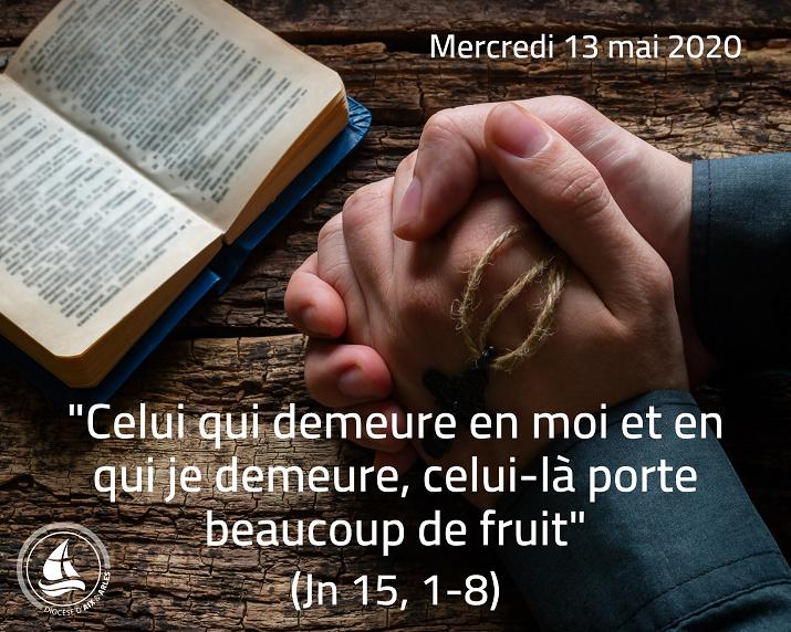 Même déconfinés, continuons à prier et méditer ! n°44