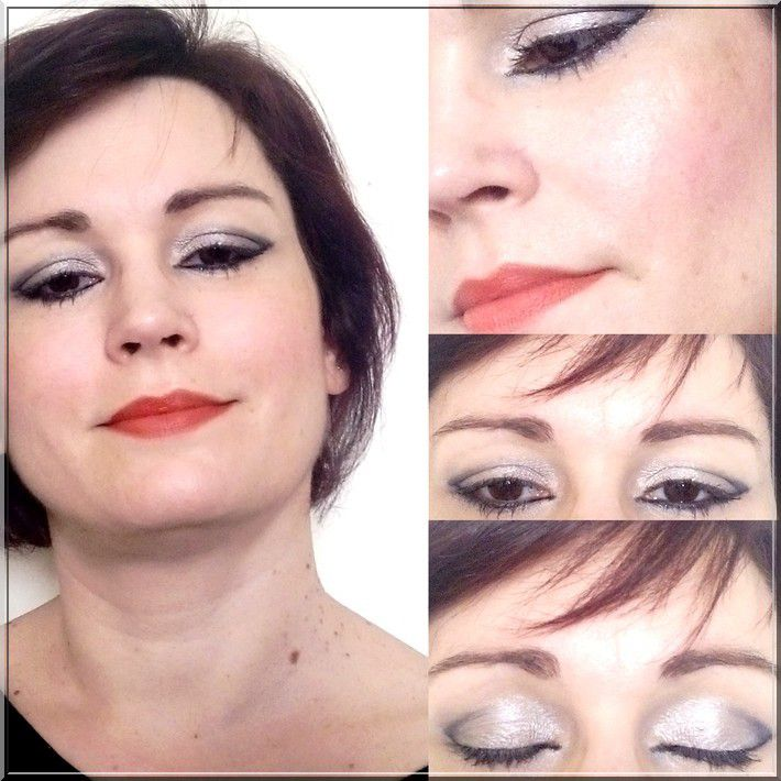 Maquillage Gris ( Makeup Grey )....