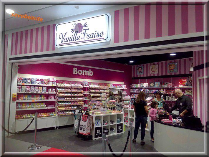 A la découverte de Vanille Fraise, vente des produits Bomb Cosmtetics à Ametzondo Saint Pierre d'Irube....