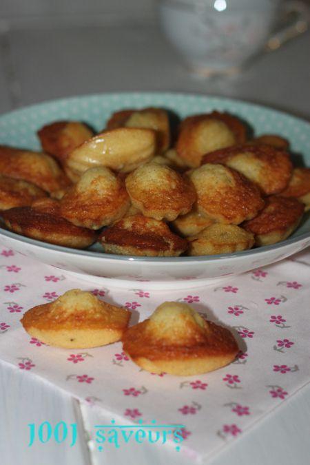madeleines de Philippe Conticini