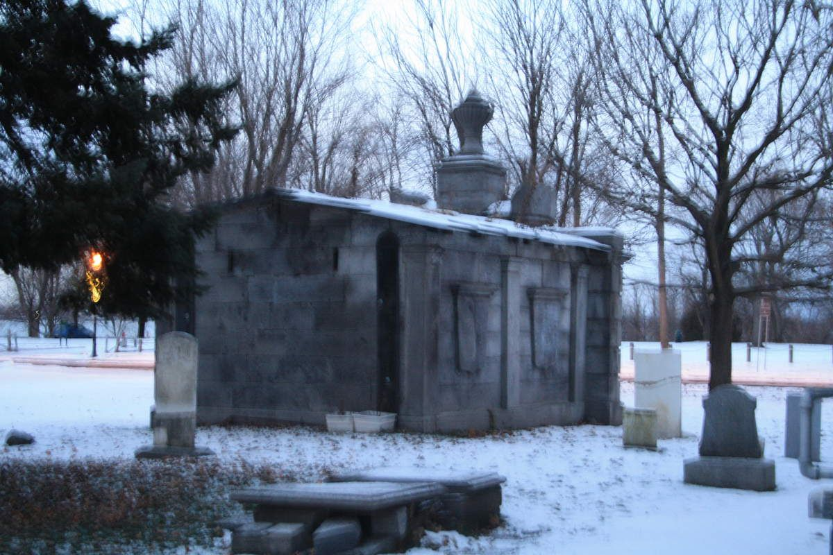 Cimetière de Chambly, Qc. Photo de SanguisDea