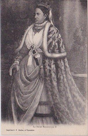 La reine Ranavalona II