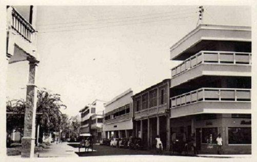 Majunga Quartier moderne 1950