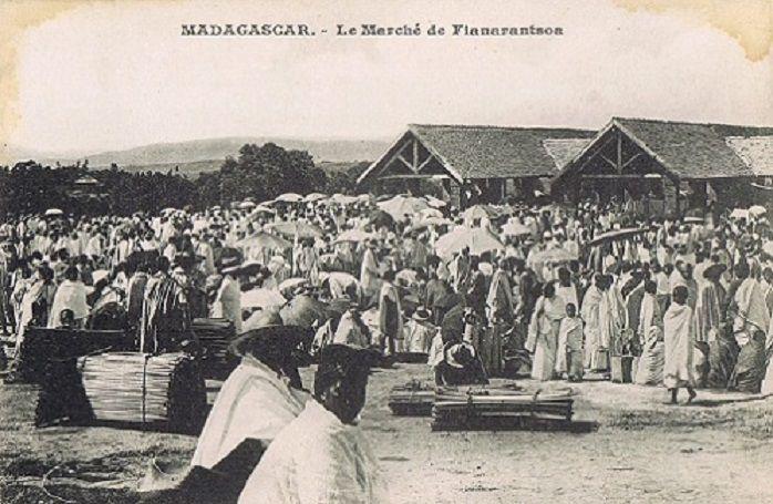 Fianarantsoa Le marché