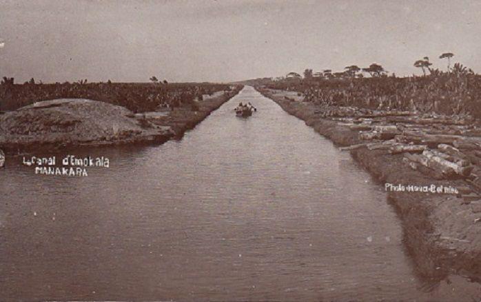 Le canal d'Emokala