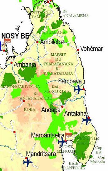Antalaha Madagascar Carte.Sambava Agir Avec Madagascar