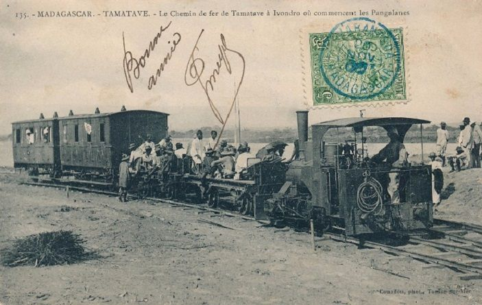 Le chemin de fer de Tamatave à Ivondro