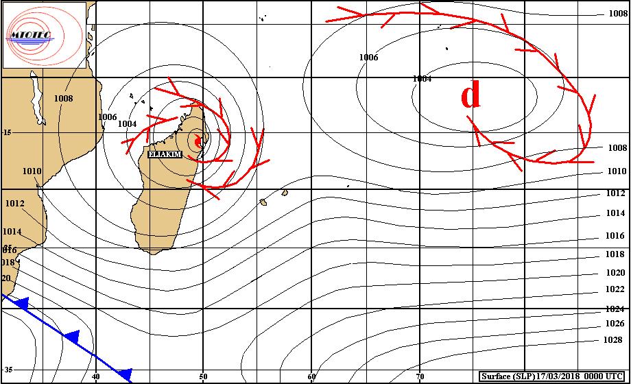 Actualités cycloniques samedi 17 mars 2018