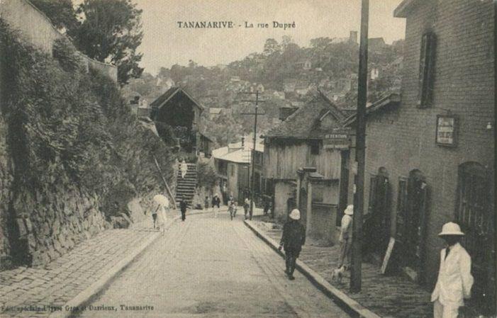 Tananarive, c'était hier, les rues