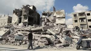 Bombardements au Proche et Moyen Orient :