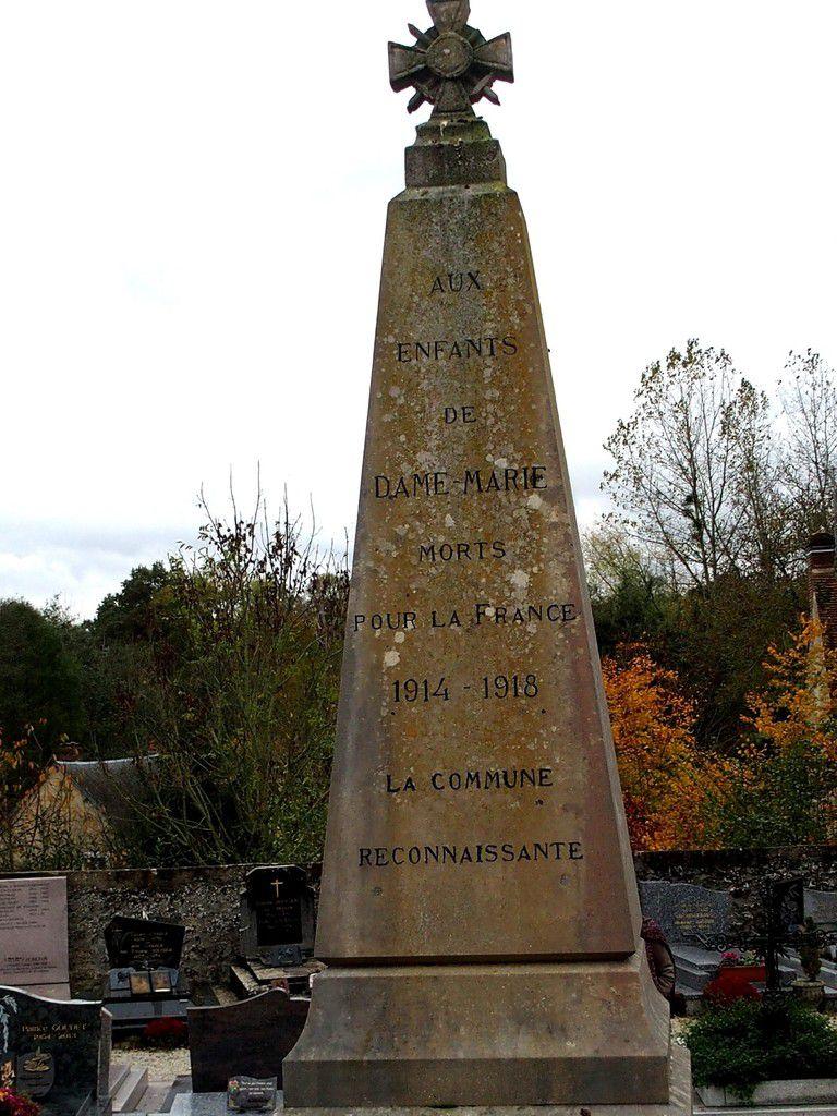 COMMEMORATION DU CENTENAIRE 1418 A DAME MARIE