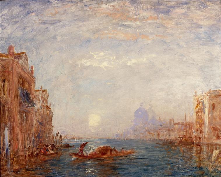 Le grand canal à Venise Schommer François (1850-1935),Vue de Venise,le grand canal Ziem Félix (1821-1911)