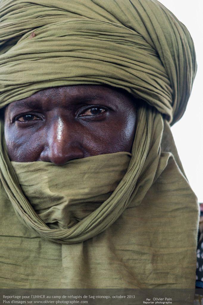 Reportage : Régugiés Touaregs, Portraits d'artisans, Burkina Faso