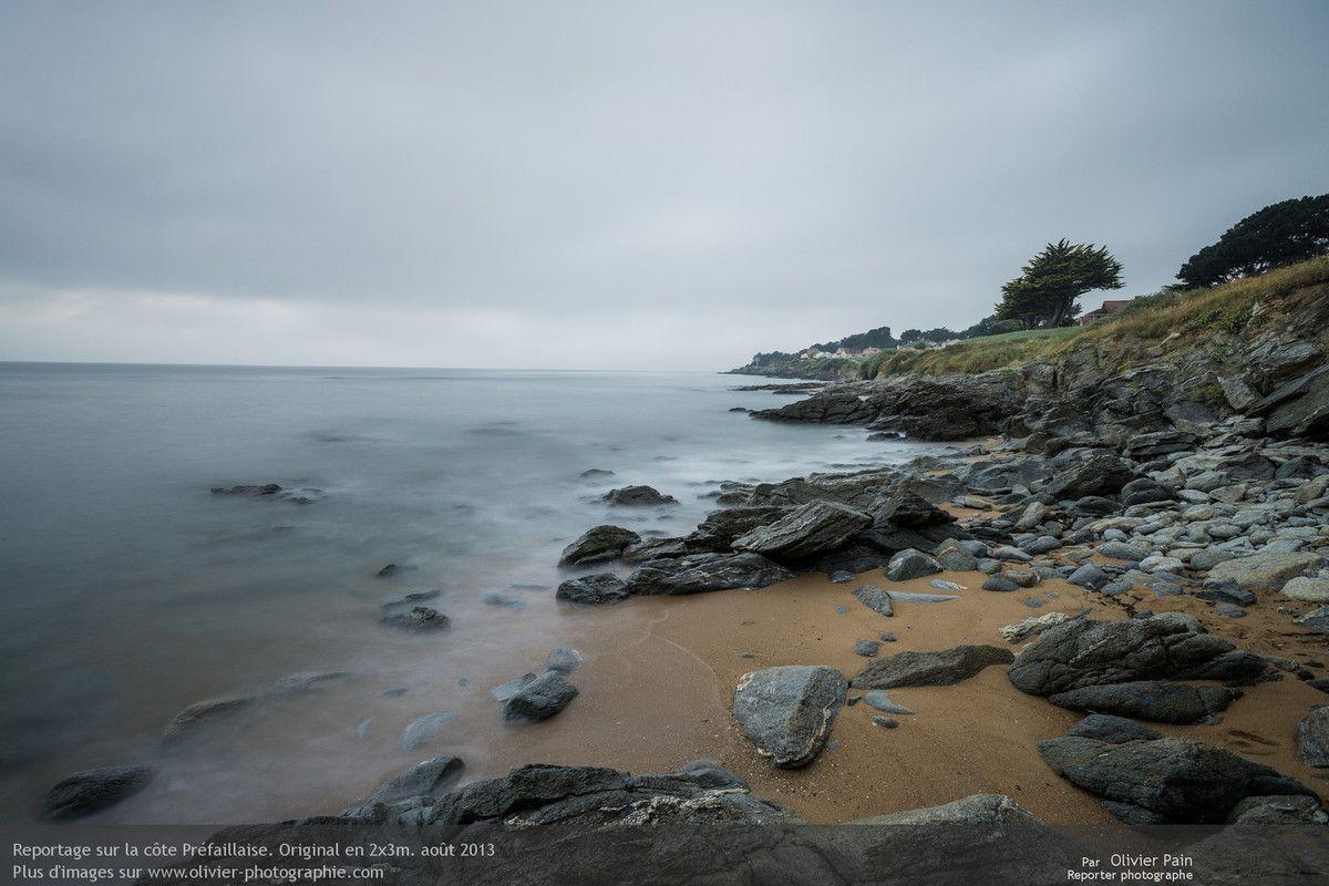 Photo : Réduire un océan agité à l'état de brume est, pour moi, une belle façon de remplacer la violence par le rêve.