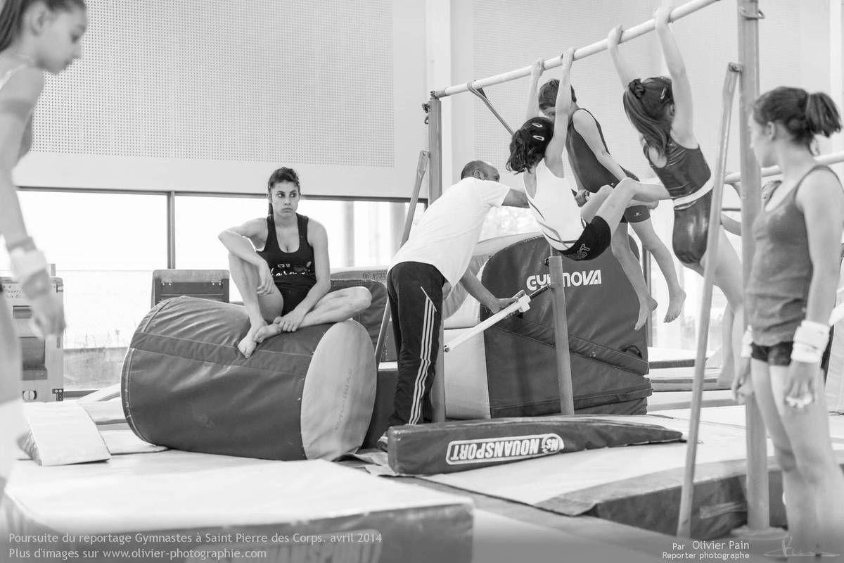 Reportage sur la gymnastique en france. Reportage réalisé sur Saint Pierre des Corps à 4km de Tours.