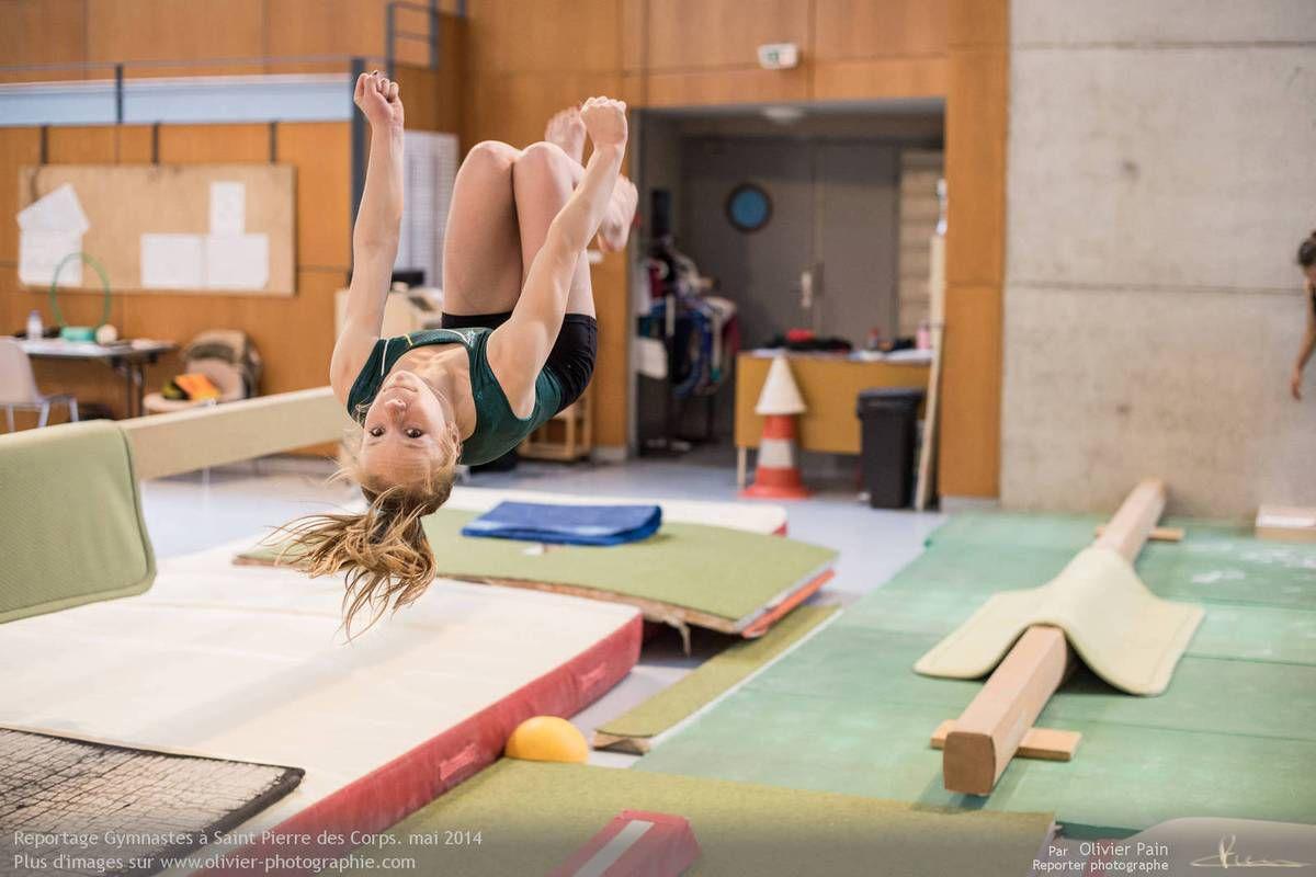 Reportage sur la gymnastique en France. Suivi de jeunes gymnastes de Saint Pierre des Corps à 4km de Tours.