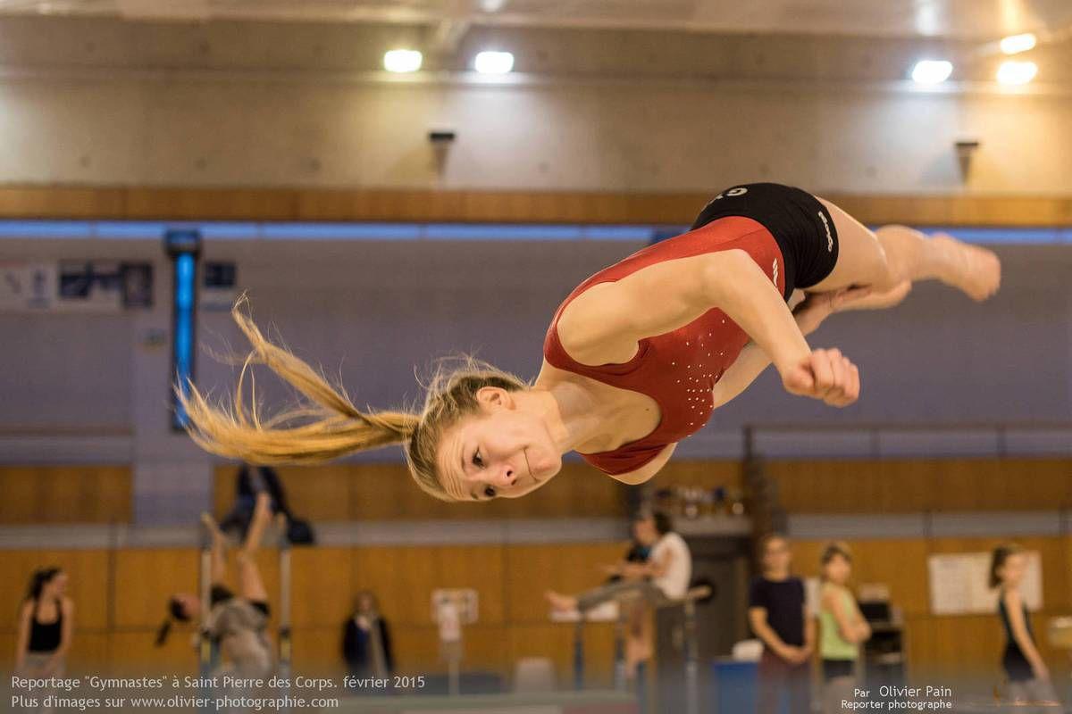 Reportage sur la gymnastique en France à Saint Pierre des Corps.