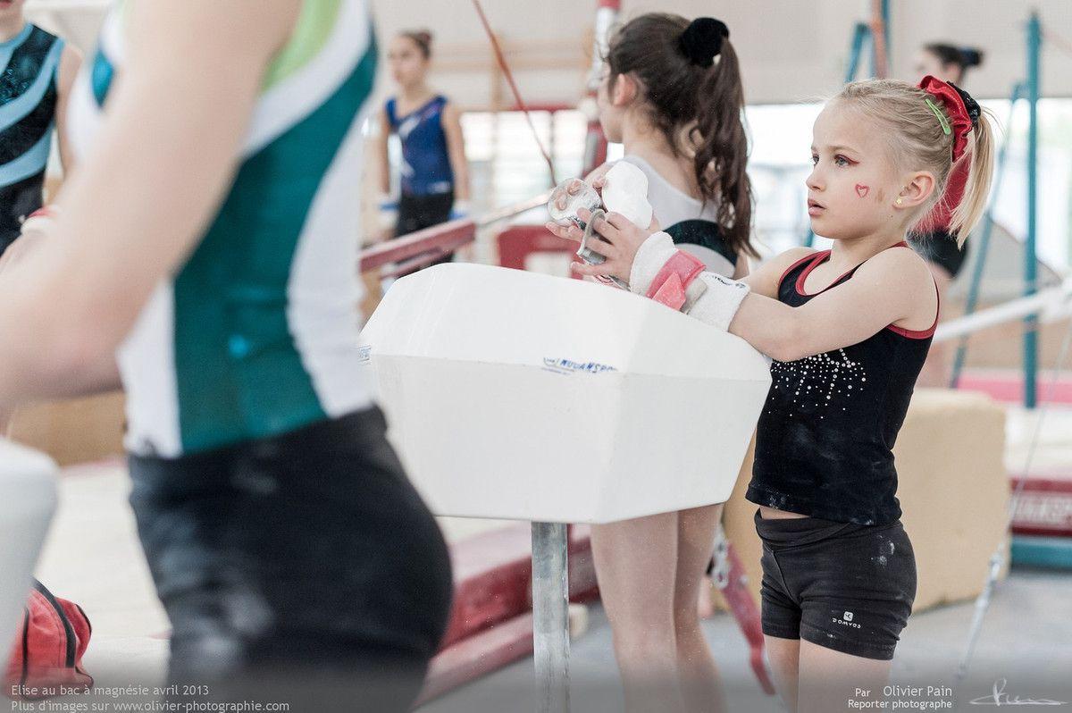 Reportage sur la gymnastique en france réalisé à Saint Pierre des Corps à quelques km de Tours.