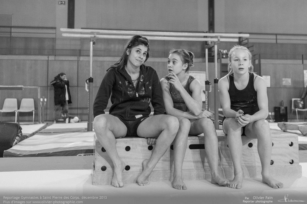 Reportage sur la gymnastique en France. Suivi de jeunes gymnastes depuis 2010. Reportage réalisé au gymnase du Val Fleuri à Saint Pierre des Corps à quelques km de Tours.