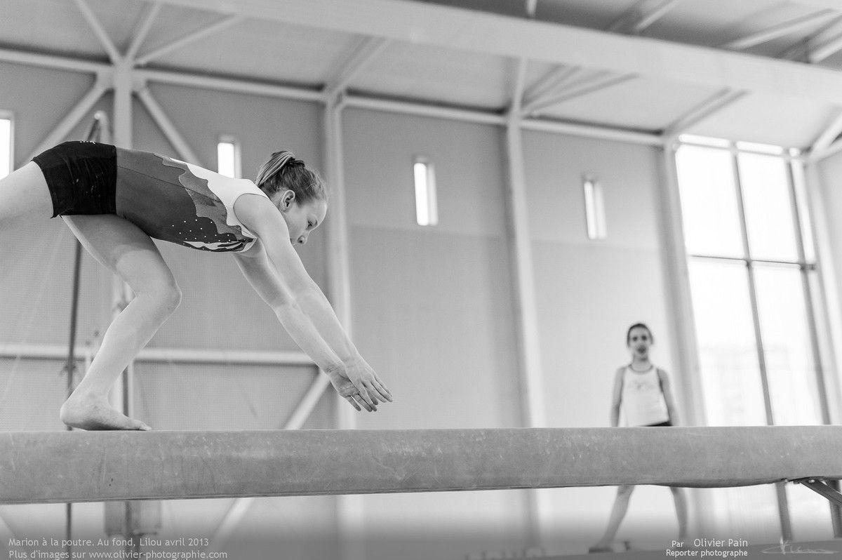 Reportage sur la gymnastique en France. réalisé à Saint pierre des corps à quelques km de Tours au gymnase du Val-Fleuri.
