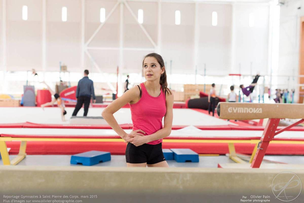 """Reportage sur la gymnastique """"Gymnastes"""" Année 2015, Le 25 Mars"""