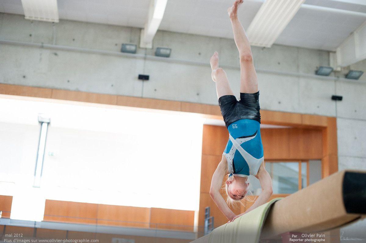 Reportage sur la gymnastique artistique féminine en France. Suivi de jeunes gymnastes réalisé à Saint Pierre des Corps à quelques km de Tours.