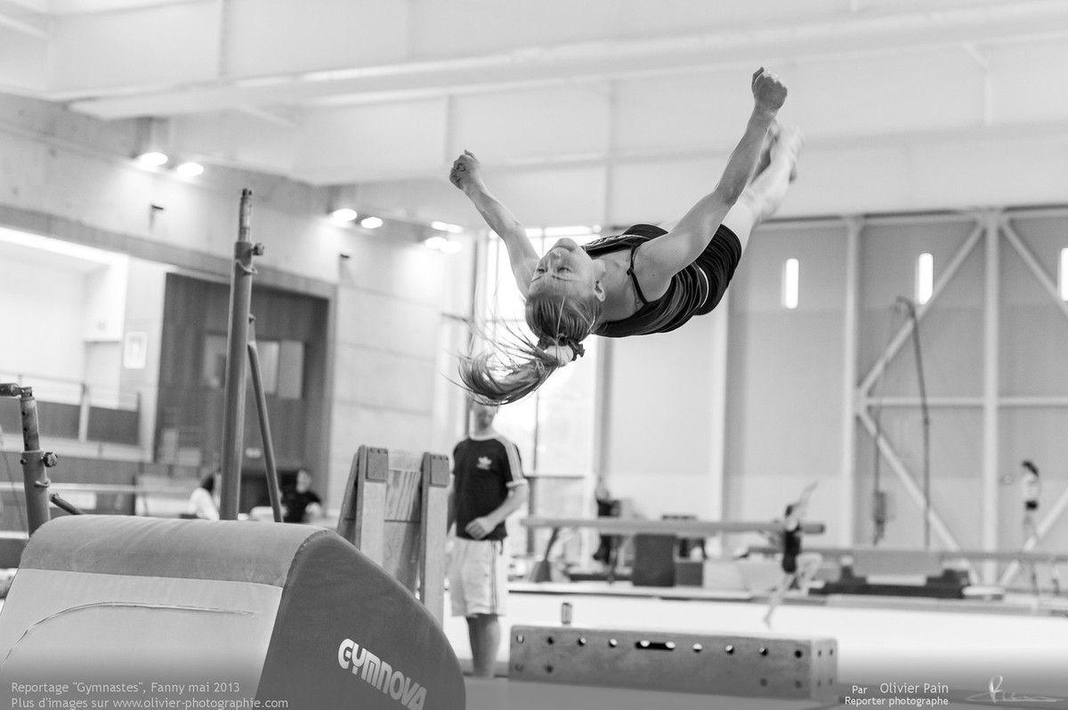 Reportage sur la gymnastique en France. Réalisé à Saint Pierre des Corps à quelques km de Tours en région centre.