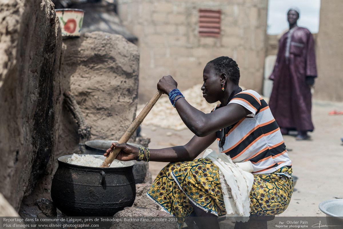 Portraits réalisés au Burkina Faso en Afrique de l'Ouest.