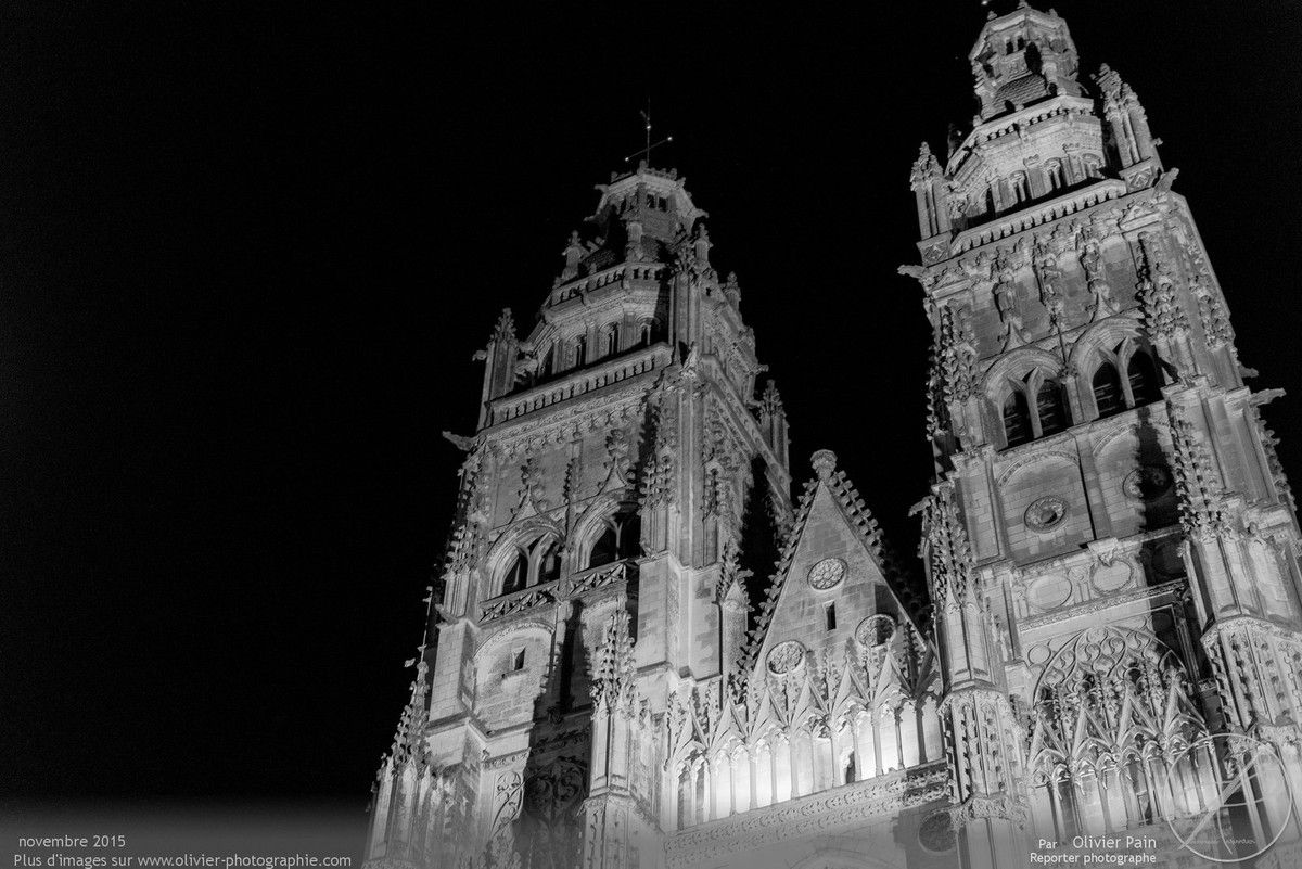 Photographies de la cathédrale de Tours.